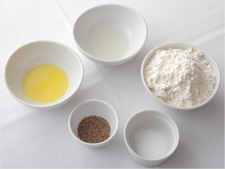 サモサの生地の材料