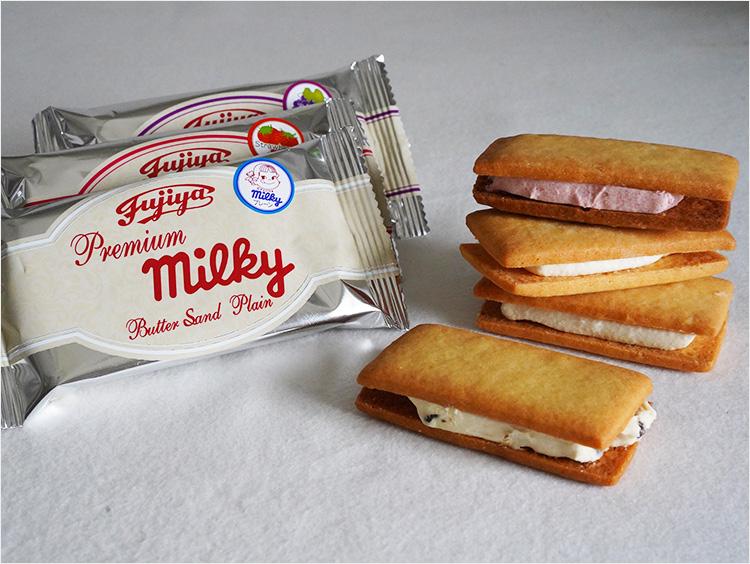 <西洋菓子舗 不二家>プレミアムミルキーバターサンド