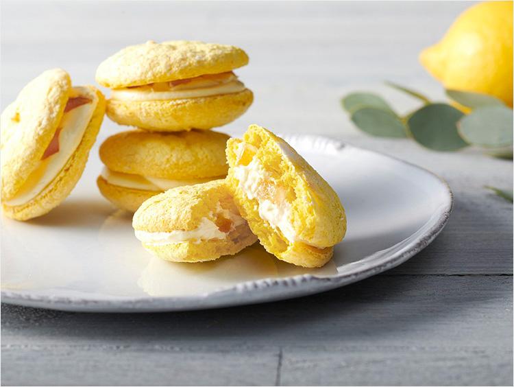 <タルト ドゥ セゾン アンテノール>レモンのクリームサンド