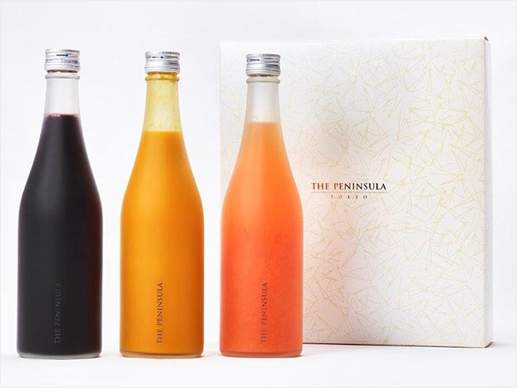 <ザ・ペニンシュラ ブティック&カフェ>ザ・ペニンシュラ東京オリジナルジュース3本セット