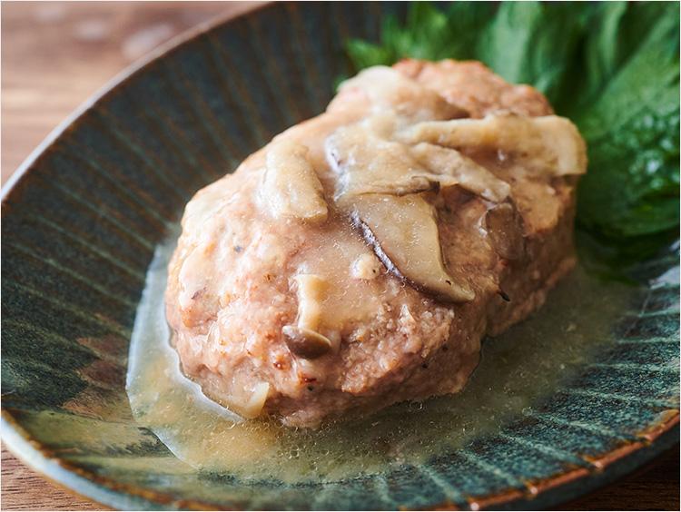 <日本料理 鈴なり>和風ハンバーグ きのこソース(冷凍)
