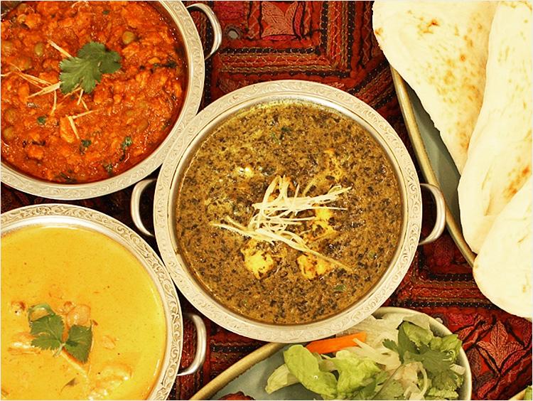 <印度料理シタール>カレー3種セット
