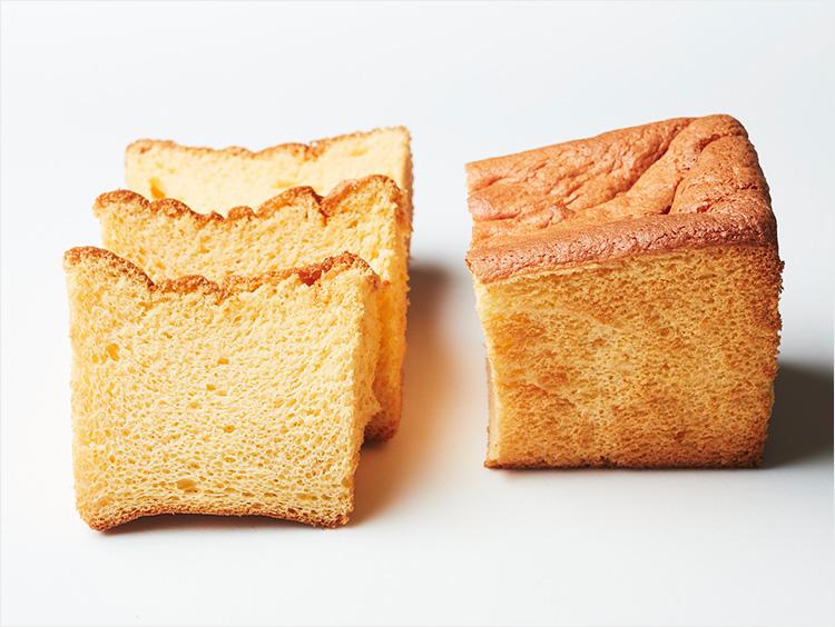 <石舟庵>米粉と蜂蜜のシフォン