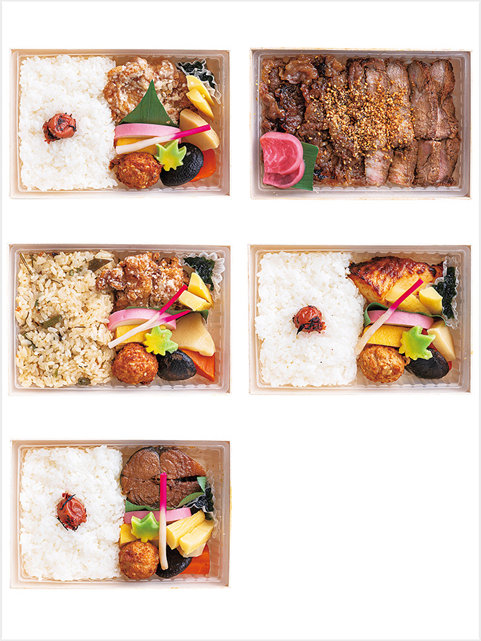 <丸政>MI限定冷凍弁当5種セット
