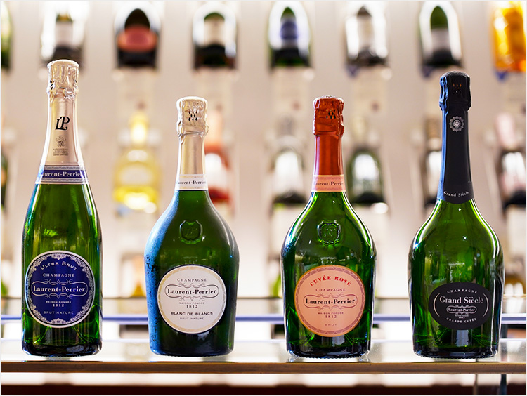 <ローラン・ペリエ>のシャンパンラインアップイメージ