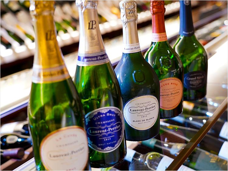 ローラン・ペリエのシャンパンのラインアップイメージ