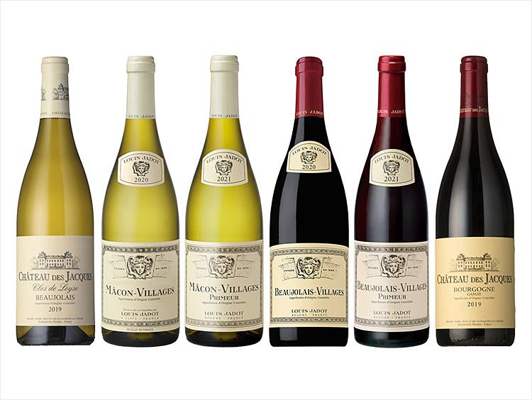 2021年ボージョレとボージョレ地区を愉しむ赤・白ワイン6本セット