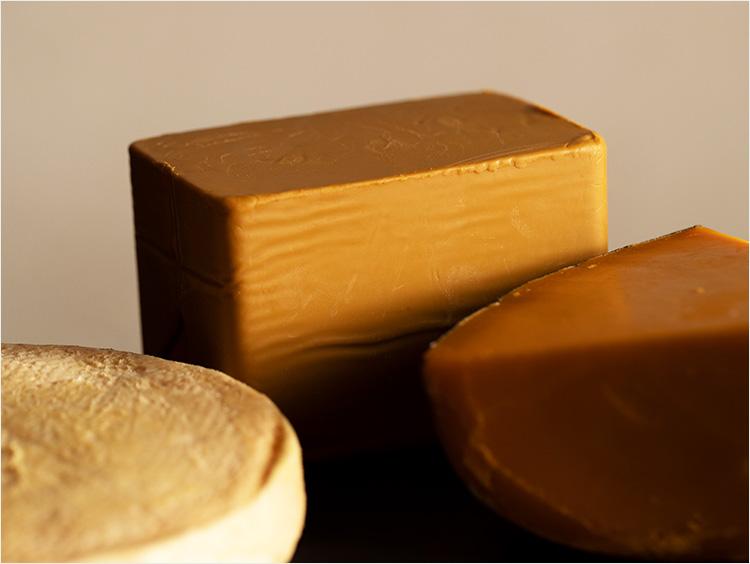 ブラウンチーズのイメージ