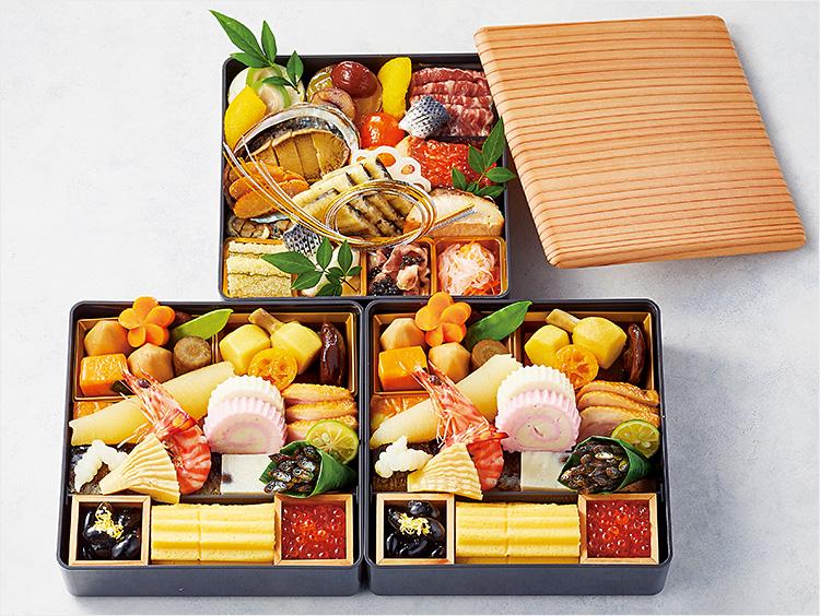 <日本料理 斗南>「Basara」三段重