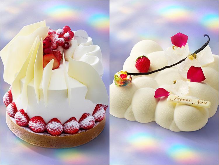 伊勢丹新宿店のクリスマスケーキのイメージ