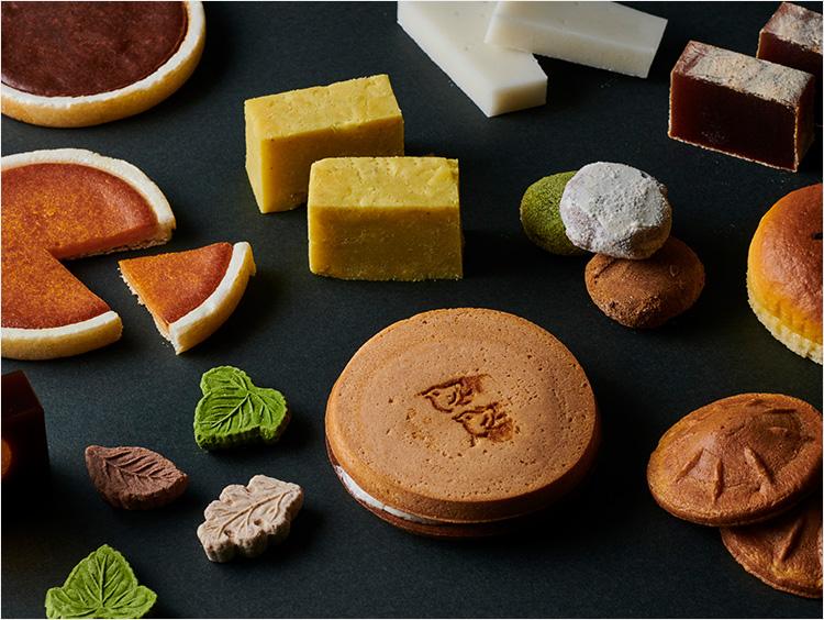 本和菓衆のお菓子イメージ